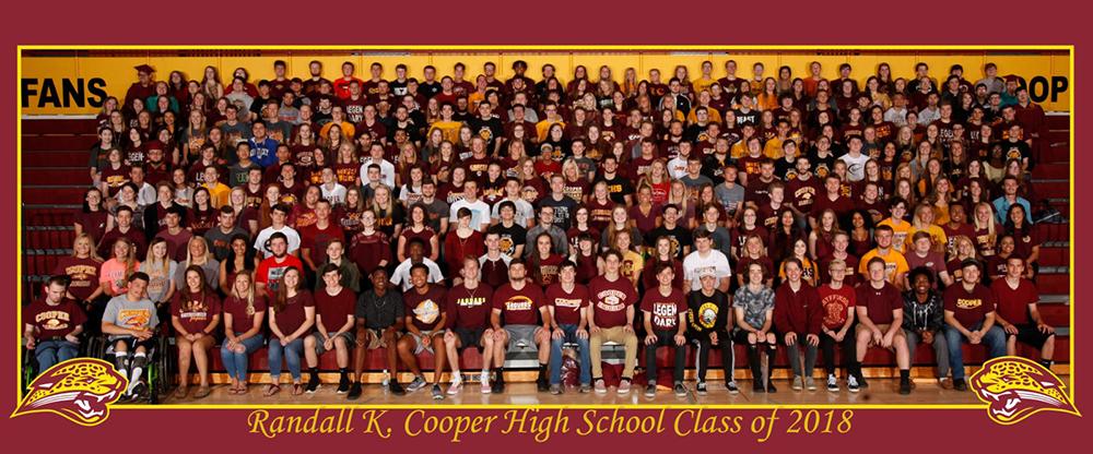 Randall K. Cooper High School Class 2018